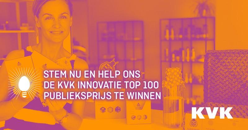 Biocare Products is genomineerd voor de KVK innovatie top100
