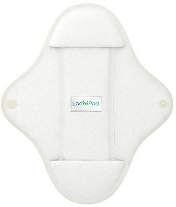 LadyPad Wasbaar maandverband & liner Wit - Large