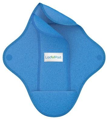 LadyPad Wasbaar maandverband & liner Blauw - Large