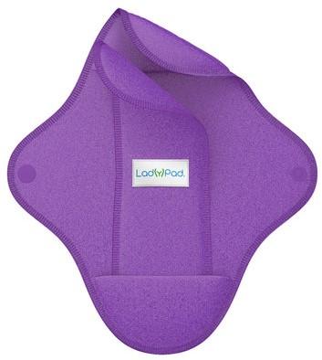 LadyPad Wasbaar maandverband & inlegger Paars - Large