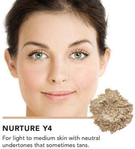 INIKA Baked Mineral Foundation Powder - Nurture Versmeld met alle lichte tot medium huidteinten. Bestseller!