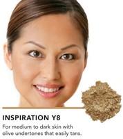 INIKA Baked Mineral Foundation Powder - Inspiration Voor medium tot donkere huidteint met gele ondertoon die snel bruint in de zon