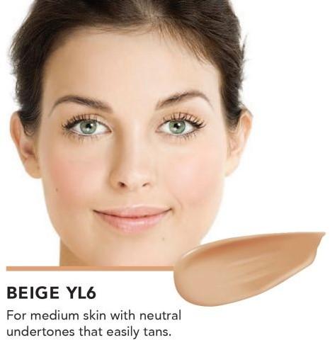 INIKA Biologische Liquid Foundation met Hyaluronic Acid - Beige Voor medium huid met neutrale ondertoon die makkelijk bruin wordt door de zon