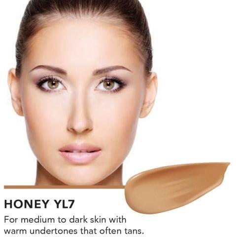 INIKA Biologische BB Cream  - Honey Voor medium tot donkere huid met warme ondertoon die snel bruin wordt -3