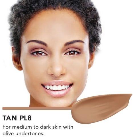 INIKA Biologische BB Cream  - Tan Voor medium tot donkere huid met olijf ondertoon