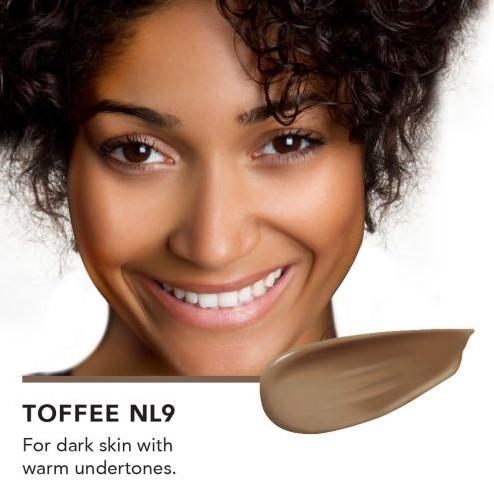 INIKA Biologische BB Cream  - Toffee Voor donkere huid met een warme ondertoon