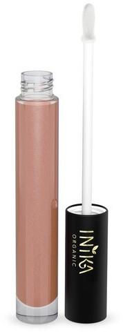 INIKA Biologische Lip Glaze - Blossom Licht roze met peachy ondertoon-3