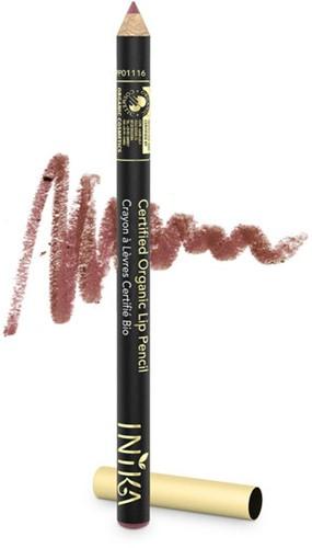 INIKA Biologische Lip Pencil - Safari Warm aardsbruin-3