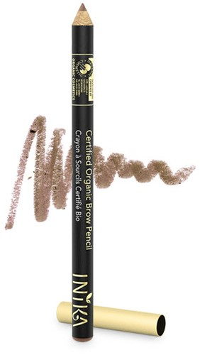 INIKA Biologische Brow Pencil - Blonde Bombshell Voor zeer lichte haren met rode ondertoon