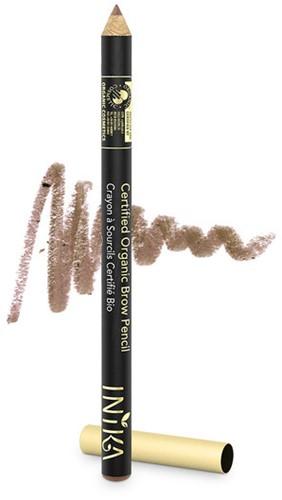 INIKA Biologische Brow Pencil - Blonde Bombshell Voor zeer lichte haren met rode ondertoon-3