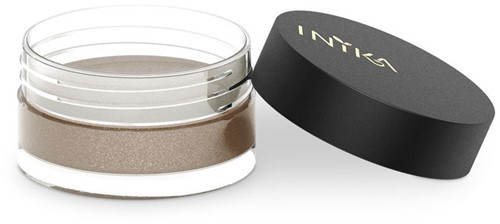 INIKA Loose Mineral Eye Shadow - Copper Crush Warm bruin rose met kopergloed-3