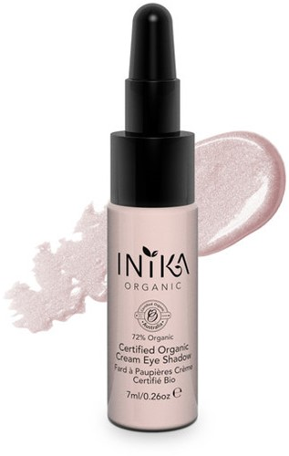 INIKA Biologische Cream Eye Shadow - Pink Cloud