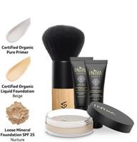 INIKA Beauty Set On The Go  - Light/Medium Voor lichte tot medium huid teint met rose ondertoon-2