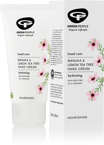 Manuka & Lemon Tea Tree Hand Cream