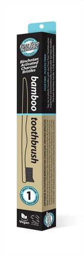 Fuss Free Bamboo Tandenborstel medium 1 stuk