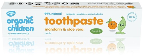 Green People Kids Mandarijn Tandpasta met Fluoride