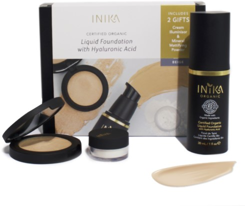 INIKA Fresh & Flawless Kit - Nude
