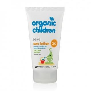Green People Zonnebrandcreme Kinderen Parfumvrij SPF30