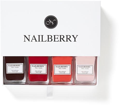 Nailberry - Cadeaubox 4 kleuren