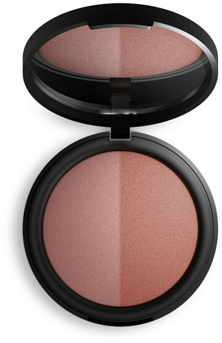 TESTER INIKA Baked Blush Duo  - Burnt Peach