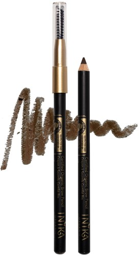 INIKA Biologische Brow Pencil - Dark Brunette