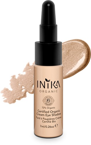 TESTER INIKA Biologische Cream Eye Shadow -  Champagne