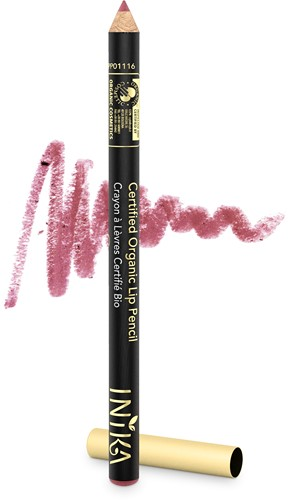 TESTER INIKA Biologische Lip Pencil - Dusty Rose