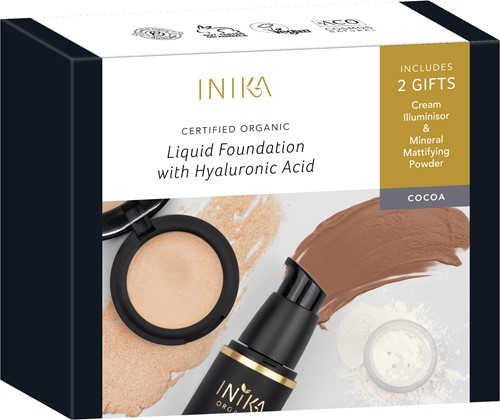 INIKA Fresh & Flawless Kit - Cocoa