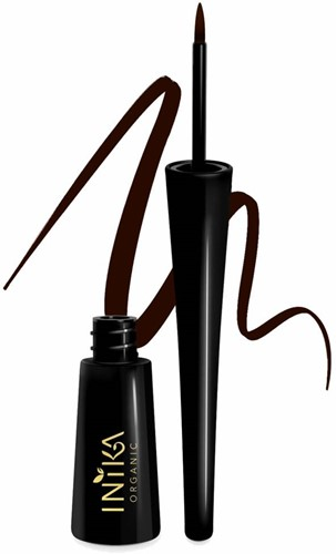 TESTER INIKA Liquid Eyeliner - Bruin