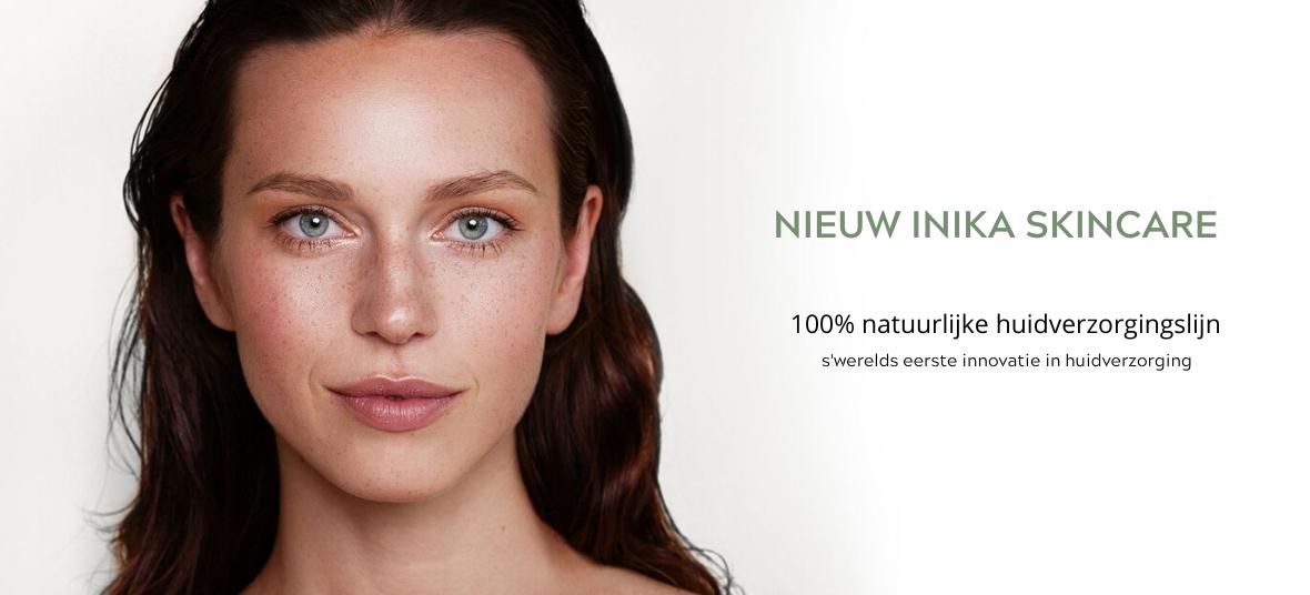 NIEUW: Skincare lijn van INIKA