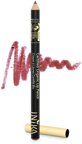 TESTER INIKA Biologische Lip Pencil - Sugar Plum