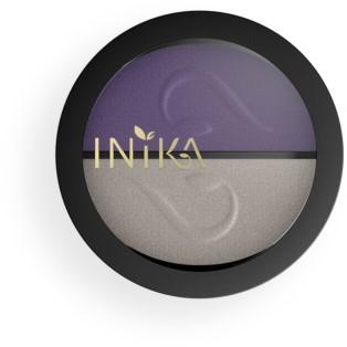 INIKA Pressed Mineral Eye Shadow Duos - Purple Platinum