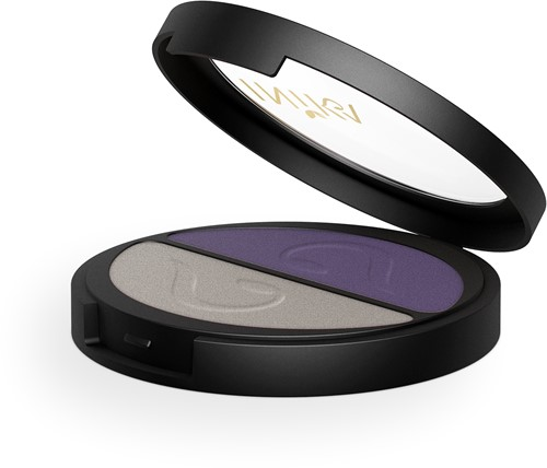 TESTER INIKA Pressed Mineral Eye Shadow Duos - Purple Platinum
