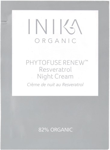 INIKA SACHET Resveratrol Night Cream