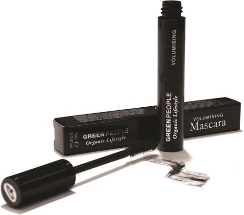 Green People Volume Mascara Donkerbruin
