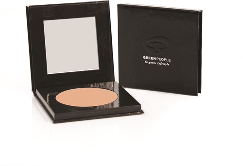 Green People Pressed Powder  - Honey Light