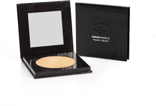 Green People Pressed Powder  - Caramel Light