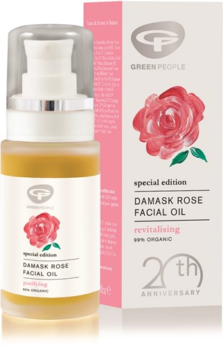 Green People Damask Rose Facial Oil