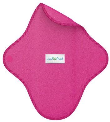 LadyPad Wasbaar Inlegkruisje Fuchsia - Large