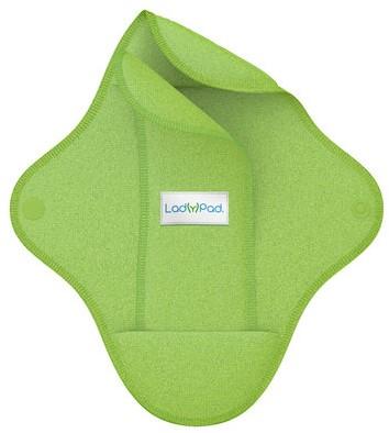 LadyPad Wasbaar maandverband & liner Groen