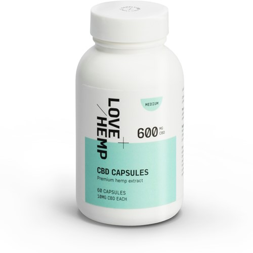 Love Hemp 600mg CBD Capsules