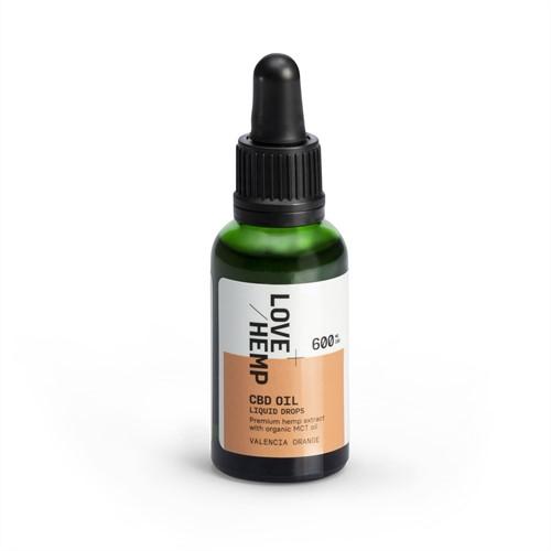 Love Hemp 600mg 2% CBD Oil – 30ml Orange