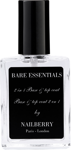 TESTER Nailberry Bare Essentials Base & Top coat