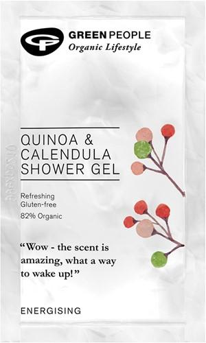 SAMPLE Green People - Quinoa & Calendula Shower Gel