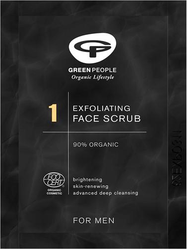 SAMPLE Green People - Scrub Gezichts Peeling