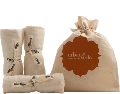 Urban Veda Organic Muslin Cloth (Set of 3)
