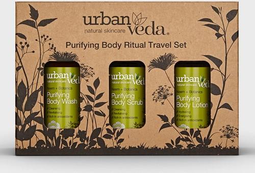 Urban Veda Purifying Body Ritual Travel Set