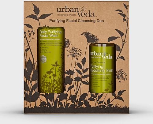 Urban Veda Purifying Facial Cleansing Duo