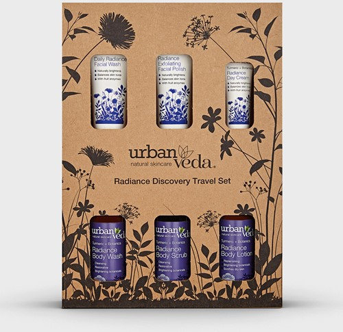 Urban Veda Radiance Complete Discovery Travel Set