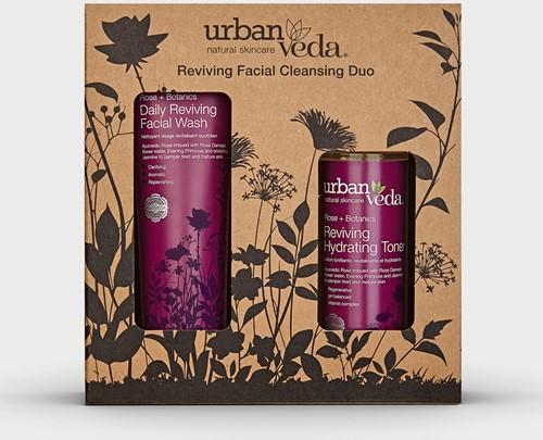 Urban Veda Reviving Facial Cleansing Duo